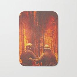 Firefighters Hero Bath Mat
