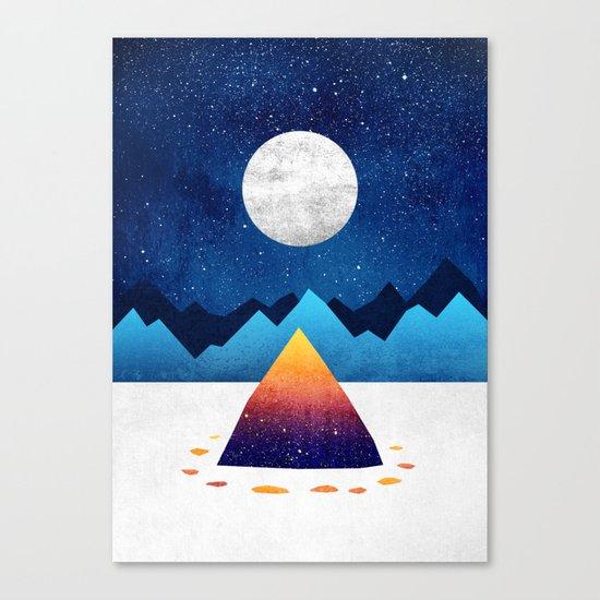 The magic of winter Canvas Print