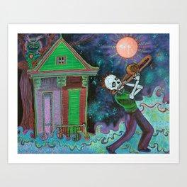 Bayou Blues Art Print