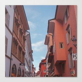 Zurich Alley III Canvas Print