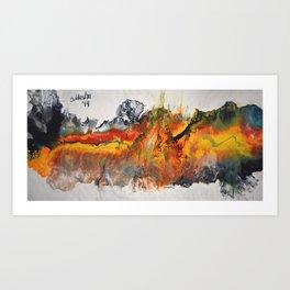 Bright Strength Art Print