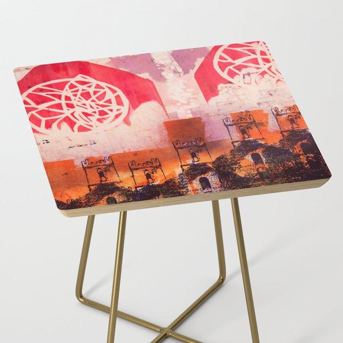 Below Deck Side Table