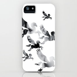 Facing Pegasus iPhone Case