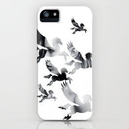 Facing Pegasus iPhone Case