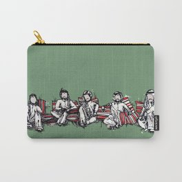 just hanging out Carry-All Pouch