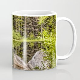 Quiet Forest lake Coffee Mug