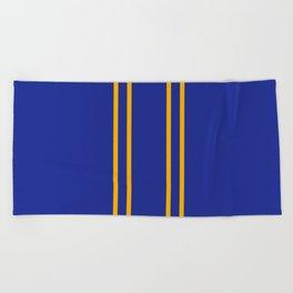 Chun Li Collant Stripes Beach Towel
