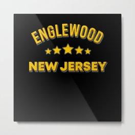 Englewood New Jersey Metal Print