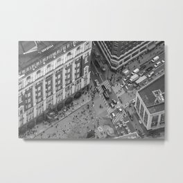 Crossroads in Manhattan Metal Print