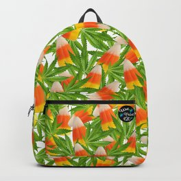Candy Corn and Cannabis Backpack
