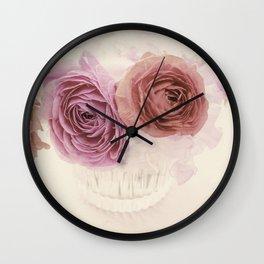 Elegant pink bouquet, pink Ranunculus Wall Clock