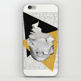 collage art / Faces iPhone Skin