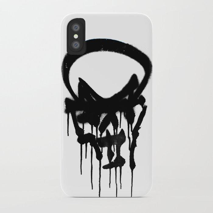 Graffiti Skull iPhone Case