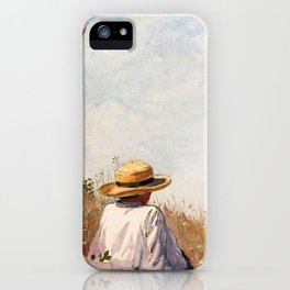 The Blue Boy - Digital Remastered Edition iPhone Case