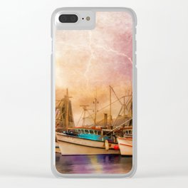 Any Port In A Storm Clear iPhone Case