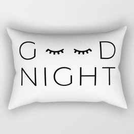 good night Rectangular Pillow