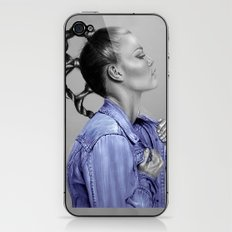 + Blue Jeans + iPhone & iPod Skin