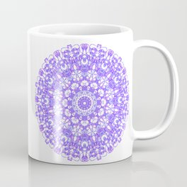 Mandala 12 / 1 eden spirit purple lilac white Coffee Mug