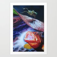 bug Art Prints featuring Bug by John Turck