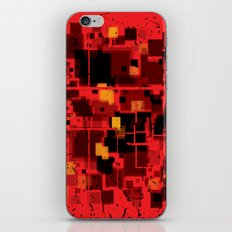 Abstract Composition #4 iPhone Skin
