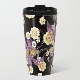 mod flowers Travel Mug