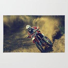 Bike Rider Rug