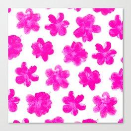 Flowering In Pink Canvas Print