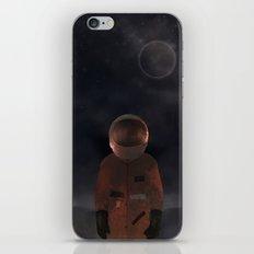 marooned astronaut iPhone Skin