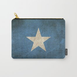 Old and Worn Distressed Vintage Flag of Somalia Carry-All Pouch