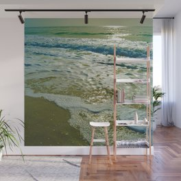 Looking towards the Gulf of Mexico on Little Gasparilla Island, Florida USA Wall Mural