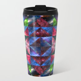 Space Quilt Metal Travel Mug