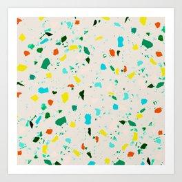 terrazzo Art Print