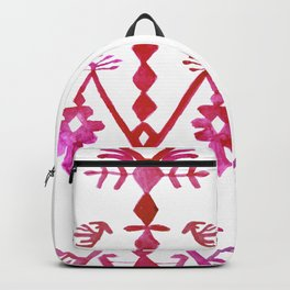 Ethnic Kilim Pattern Tree of Life Backpack