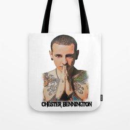Chester Bennington Desain 001 Tote Bag