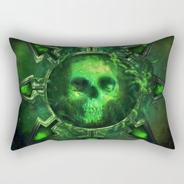 Chaos Icon - Nurgle Rectangular Pillow