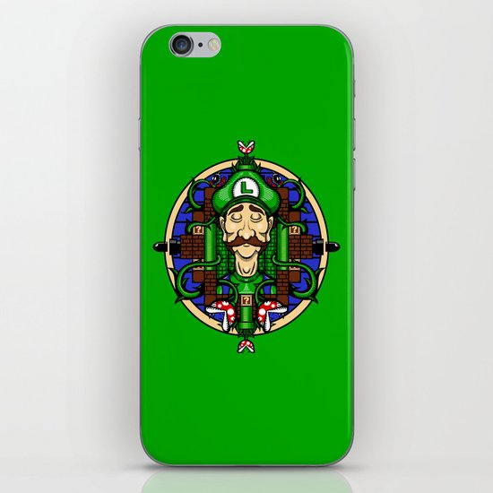 Luigi's Lament iPhone & iPod Skin