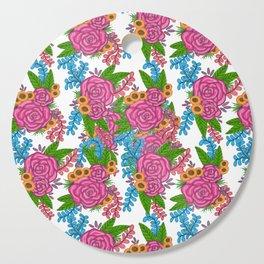 Dancing Florals Cutting Board