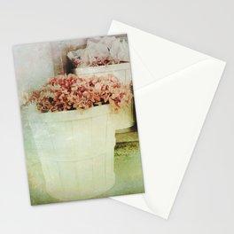 Vintage Street Flowers Stationery Cards