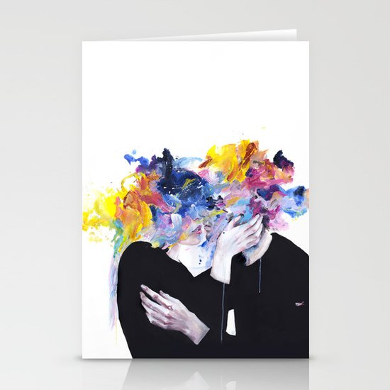 intimacy on display Stationery Cards