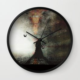 Saint Atropa Wall Clock
