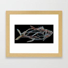 Tuna Glow Framed Art Print
