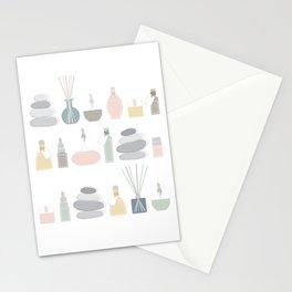 Aromatherapy, Yoga, Meditation and Mindfulness Stationery Cards