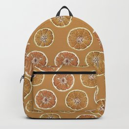Oranges Pattern Backpack
