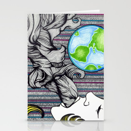Earthling Stationery Cards