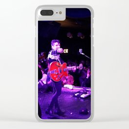 Birds in the Boneyard, Print 11: He's looking at you! Clear iPhone Case