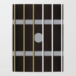 Guitar Neck Fretboard - Music Poster