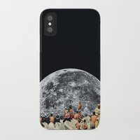 collage iPhone & iPod Cases featuring MOONRISE  by Beth Hoeckel