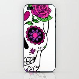 Woman Sugar Skull iPhone Skin