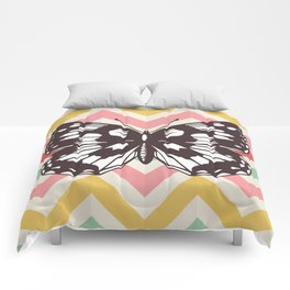 Colorful Butterfly Print - Buttefly Home Decor Comforters