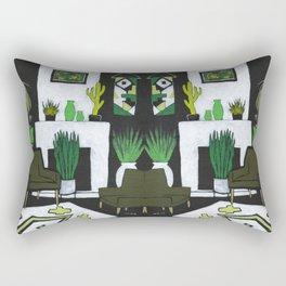 The Green Room Rectangular Pillow